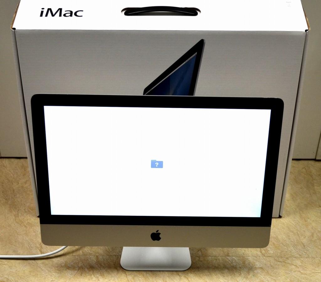ガラス割れ iMac 21.5-inch,Late 2012 MD093J/A買取ました!