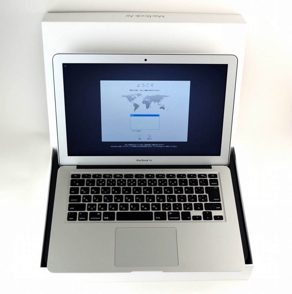 中古 MacBook Air 13-inch,Early 2015 MJVG2J/A買取ました!