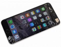 液晶ガラス割れ SoftBank iPhone6 Plus 64GB スペースグレイ MGAH2J/A買取ました!