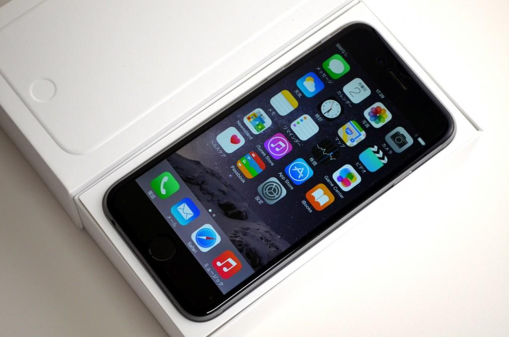 中古ドコモ iPhone6 64GB スペースグレイ MG4F2J/A買取ました!