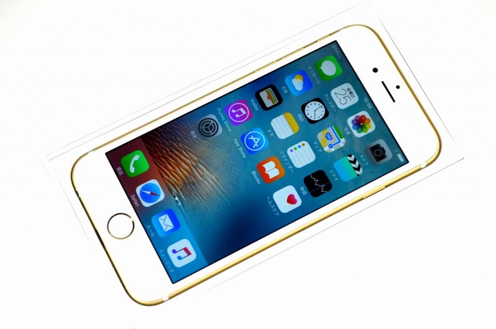 中古 au iPhone6 16GB ゴールド MG492J/A買取ました!
