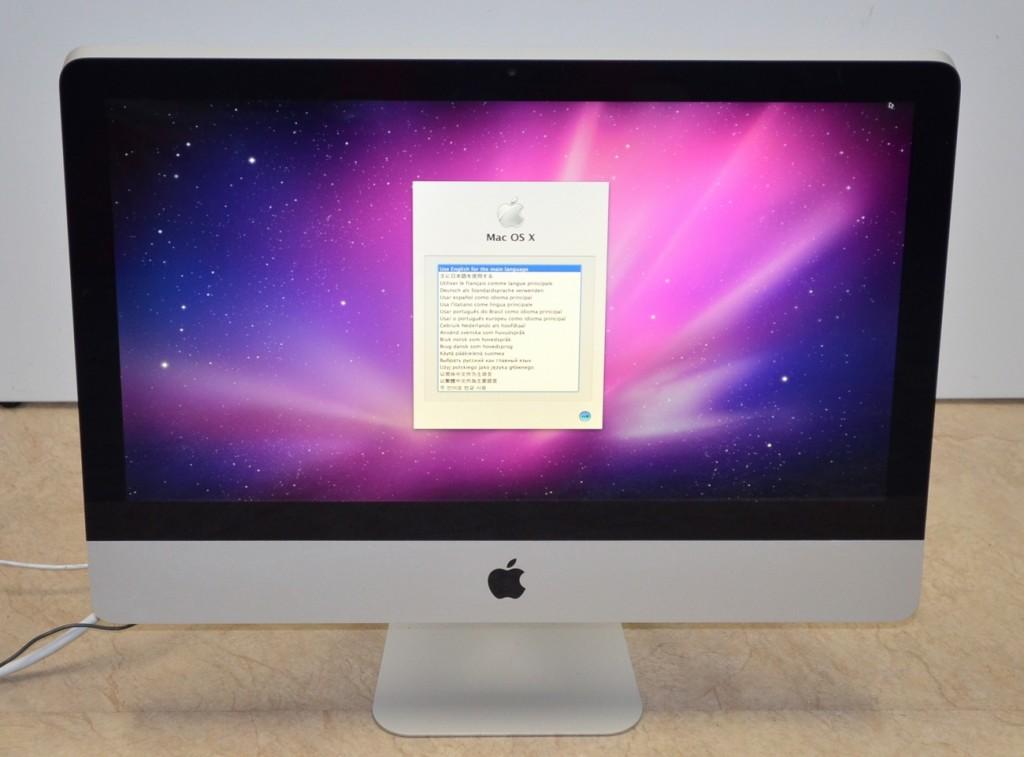 中古 iMac買取ました!21.5-inch,Mid 2010 MC509J/A