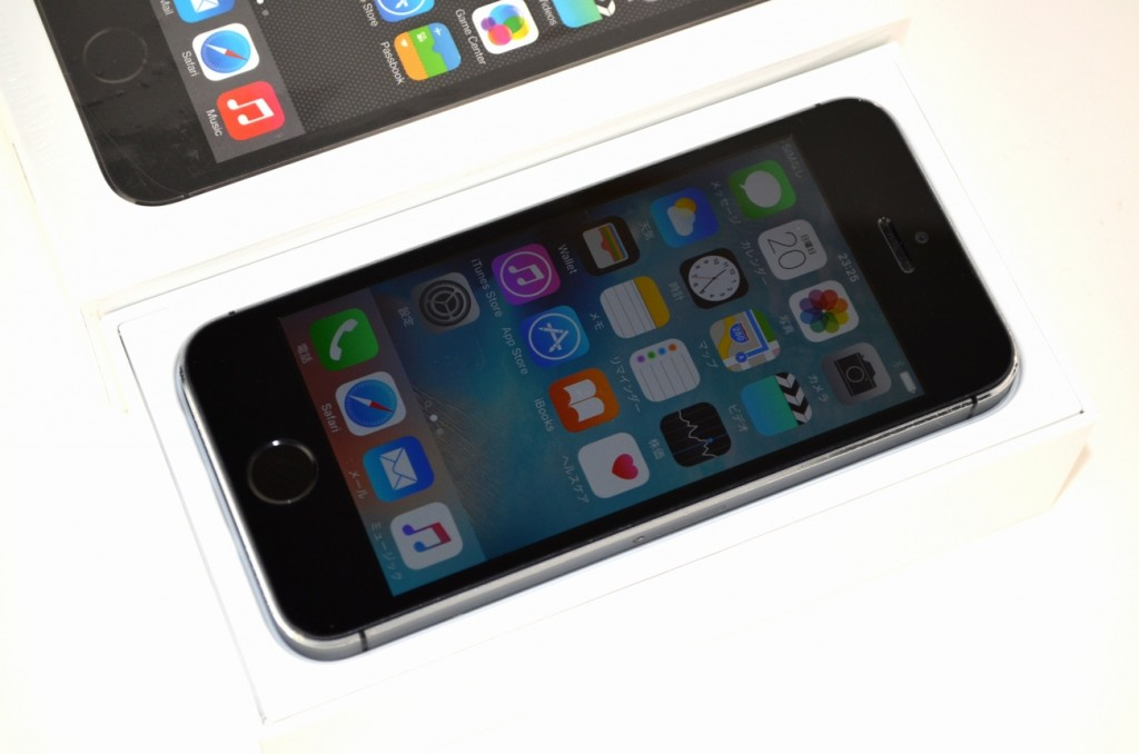 中古SoftBank iPhone5s 32GB買取ました!スペースグレイ ME335J/A