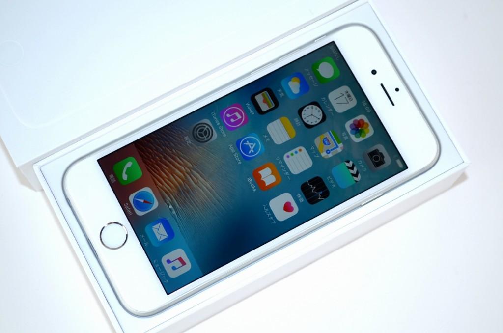 中古SoftBank iPhone6 16GB買取ました!シルバー MG482J/A