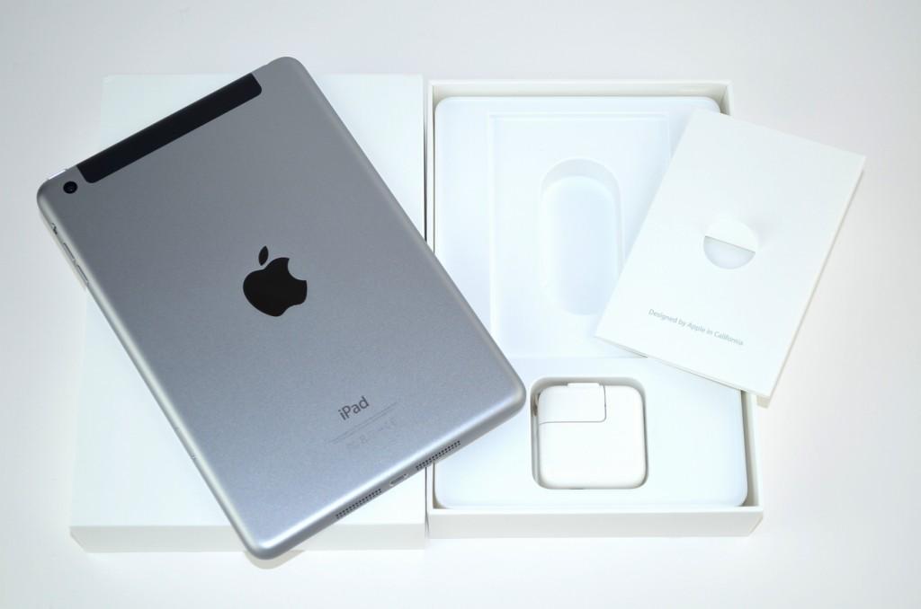 中古au iPad mini3買取ました!64GB スペースグレイ MGJ02J/A Wi-Fi+Cellular