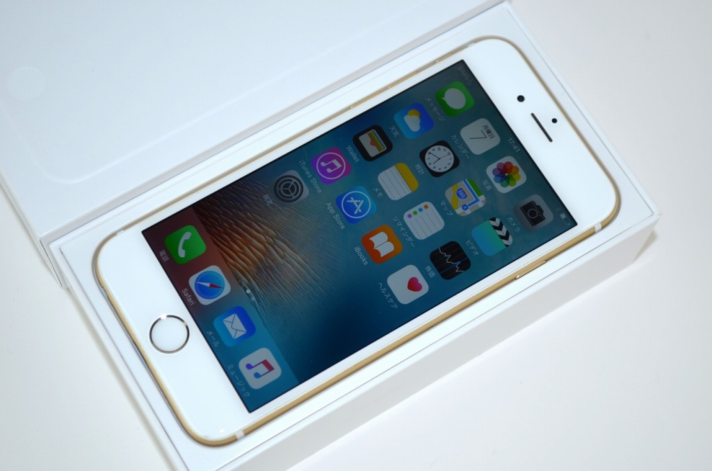 中古au iPhone6 64GB MG4J2J/A買取ました!ゴールド