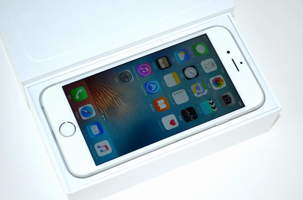 中古docomo iPhone6 128GB MG4C2J/A買取ました!シルバー