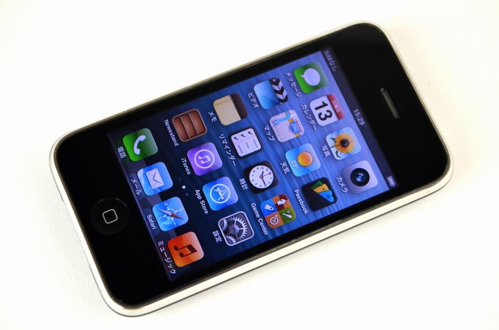中古iPhone3GS 16GB買取ました!SoftBank ブラック MC131J/A