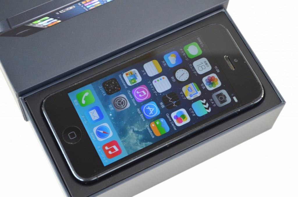 中古iPhone5 16GB買取ました!ブラック ME039J/A