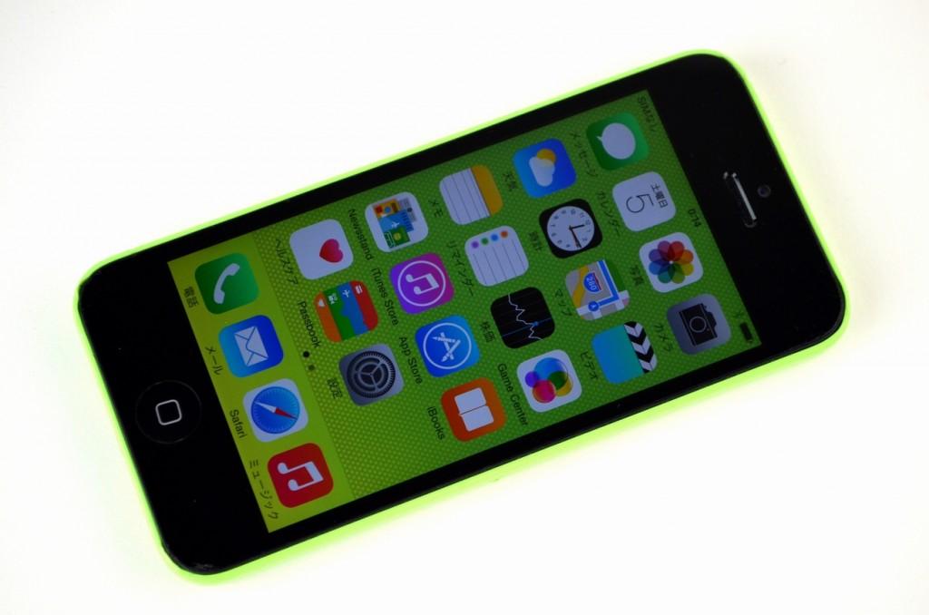 中古iPhone5c 16GB買取ました!SoftBank ME544J/A