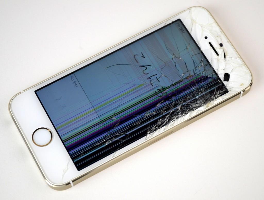 壊れたiPhone5s 16GB買取ました!SoftBank ゴールド ME334J/A