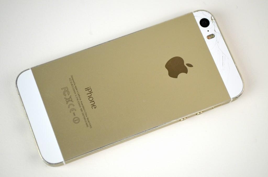 壊れたiPhone5s 64GB買取ました!SoftBank ゴールド ME340J/A