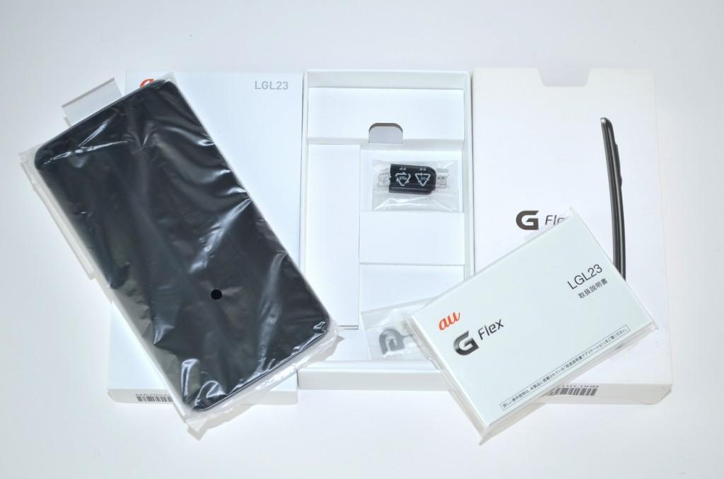 新品 au LGL23 G Flex ブラック買取ました!