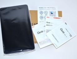 新品 au Qua tab 01 KYT31 タブレット買取ました!