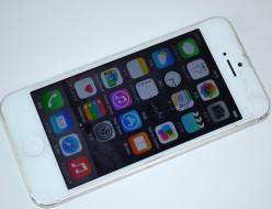 画面割れSoftBank iPhone5 16GB買取ました!ホワイト MD298J/A