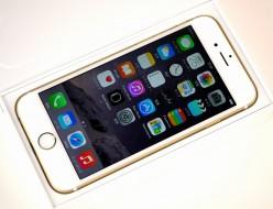 中古 SoftBank iPhone6 16GB ゴールド MG492J/A買取ました!