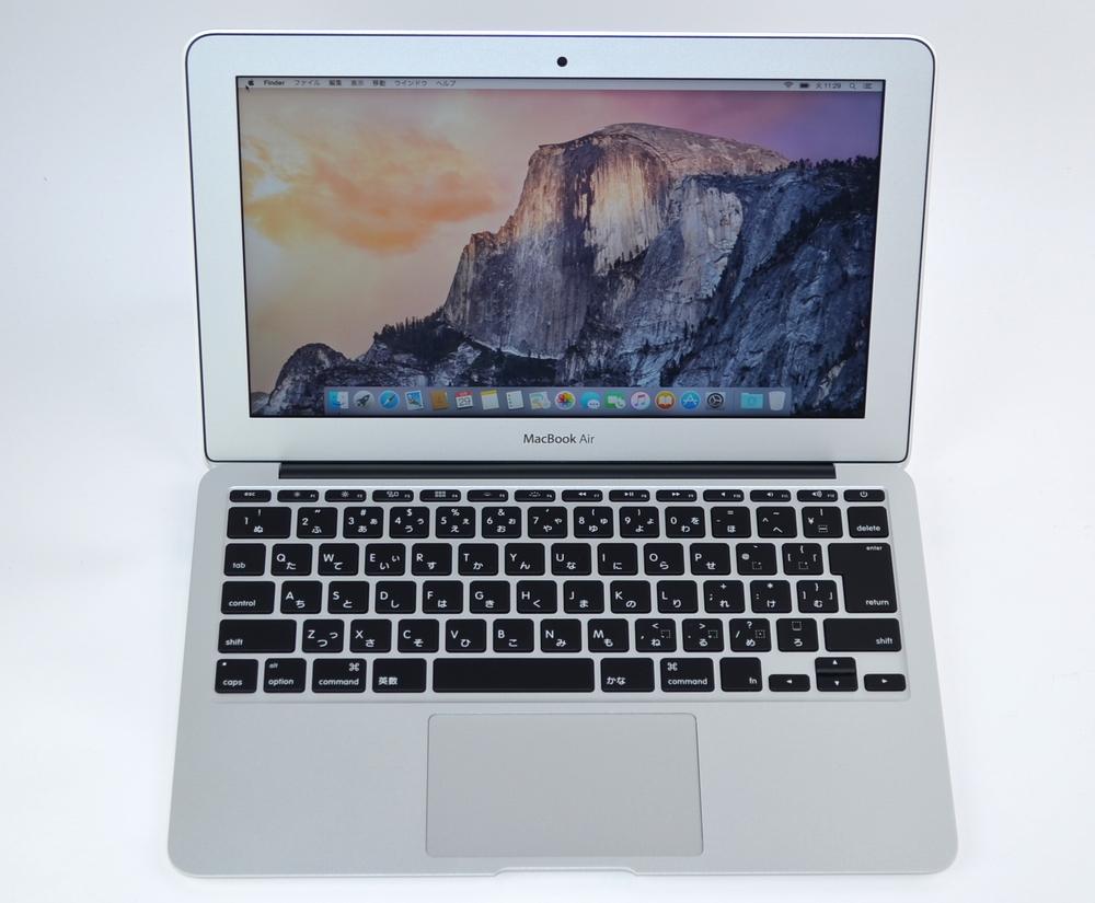 中古MacBook Air買取ました!11-INCH,EARLY 2015 Core i7