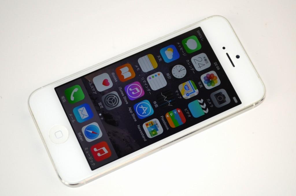 SoftBank iPhone5 64GB 白 MD663J/A買取ました!