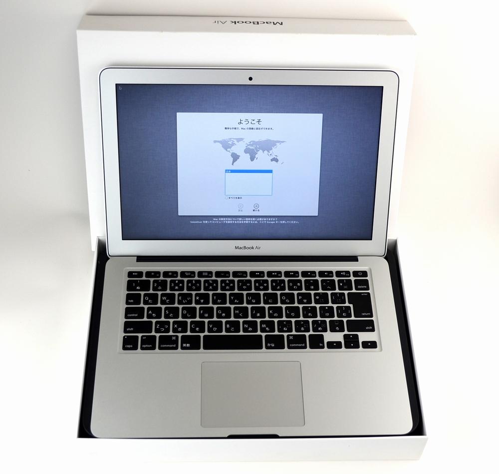 中古MacBook Air買取ました!13-inch,Mid 2013 MD761J/A他店プラスαで買取いたしました!