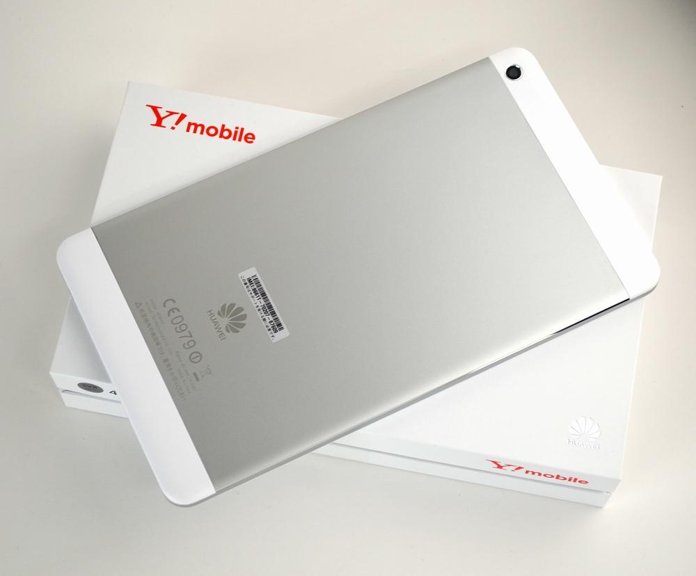 中古MediaPad M1 8.0 403HW買取ました!Y!mobile(ワイモバイル)タブレット