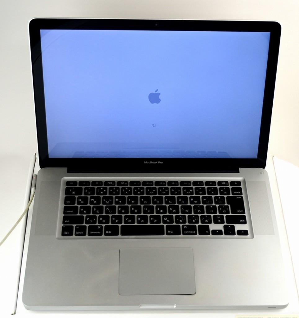 壊れたMacBook Pro他店プラスαで買取いたしました!15-inch,Early 2011 MC721J/A
