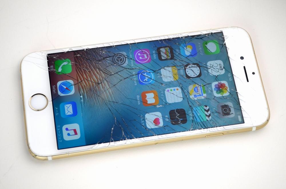 壊れたSoftBank iPhone6他店プラスαで買取ました!64GB MG4J2J/A ゴールド、中古・壊れたiPhone・iPad・Mac・スマホの買取はジャンク品ジャパンまで!
