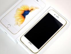 新品 au iPhone6s 64GB買取ました!ゴールド MKQQ2J/A