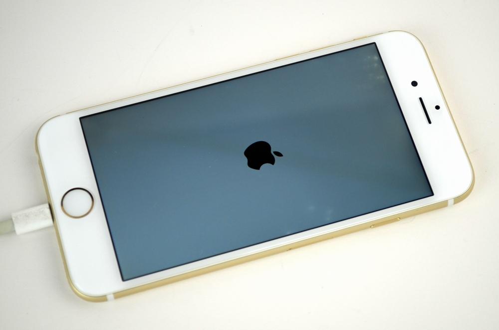 水没au iPhone6 64GB 買取ました!ゴールド,中古・壊れたiPhone買取福岡ジャンク品ジャパンまで!