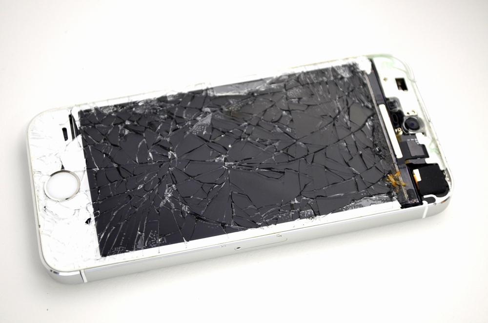 画面割れSoftBank iPhone5s 64GB買取ました!シルバー