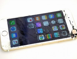 ガラス割れSoftBank iPhone6 16GB買取ました!ゴールド MG492J/A