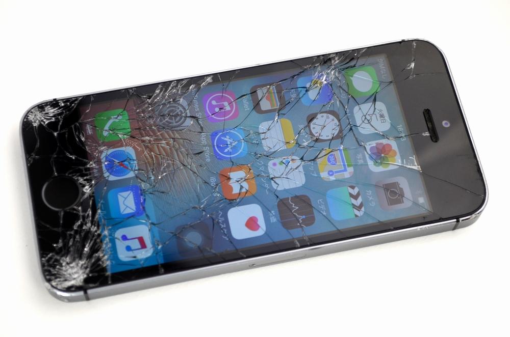 ガラス割れdocomo iPhone5s 64GB買取ました!スペースグレイ ME338J/A