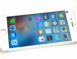 画面割れSoftBank iPhone6 128GB買取ました!MG4C2J/A シルバー
