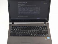 中古ノートPC買取ました!マウスコンピューター Win8 Core i7、新品・中古・壊れたノートパソコンお売りください!
