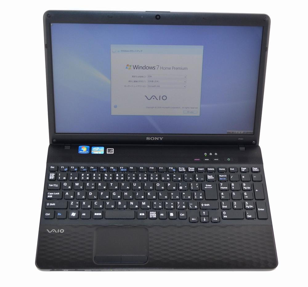 中古ノートPC買取ました!SONY PCG-71B11N VPCEH18FJ