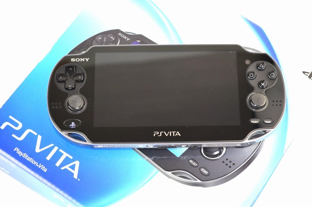 壊れたSONY PSVITA PCH-1100 AA01 3G/Wi-Fiモデル買取ました!