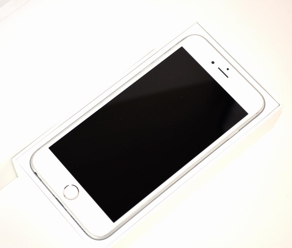 壊れたSoftBank iPhone6 Plus買取ました!64GB MGAJ2J/Aシルバー、中古・壊れたiPhone・スマホの買取はジャンク品ジャパンまで!