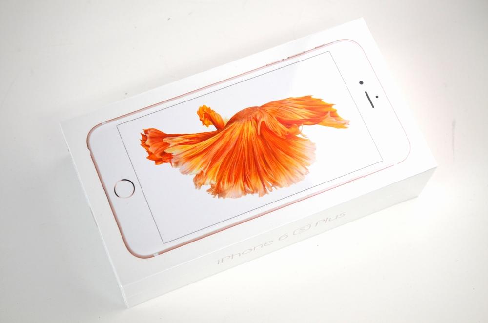 新品 国内版SIMフリーiPhone6s Plus買取ました!128GB MKUG2JA ローズゴールド