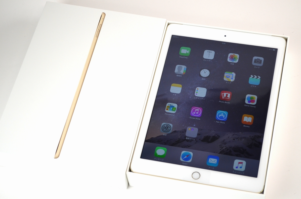 新品 docomo iPad Air2買取ました!MH172J/A ゴールド,iPadの買取は福岡博多ジャンク品ジャパンまで!