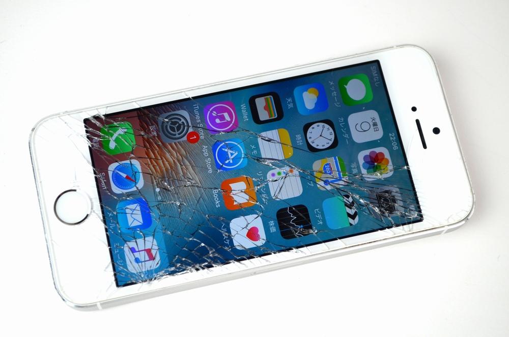液晶割れ SoftBank iPhone5s 32GB買取ました!シルバー ME336J/A