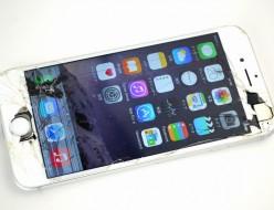 ガラス割れau iPhone6買取ました!128GB シルバー