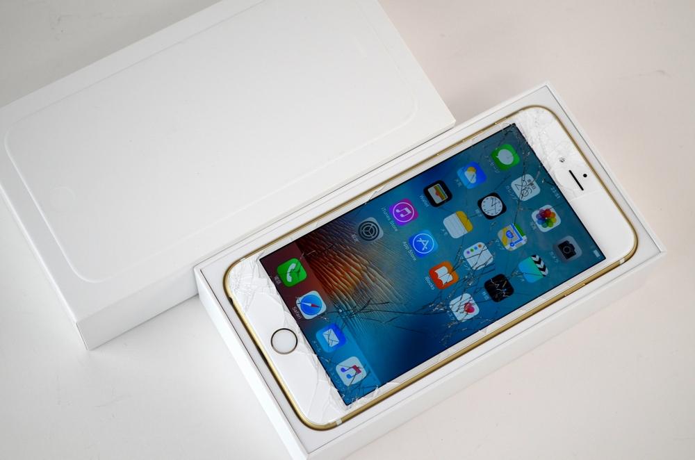ガラス割れdocomo iPhone6 Plus買取ました!64GB MGAK2J/A ゴールド,ドコモの携帯売るならジャンク品ジャパン