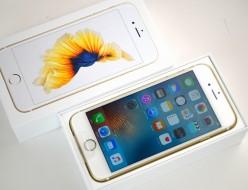 新品 au iPhone6s買取ました!16GB MKQL2J/A ゴールド