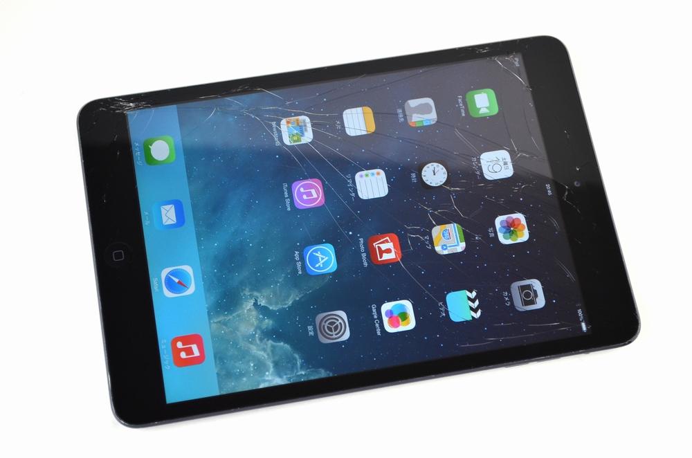 ガラス割れ iPad mini買取ました!16GB Wi-Fi版 MD528J/A