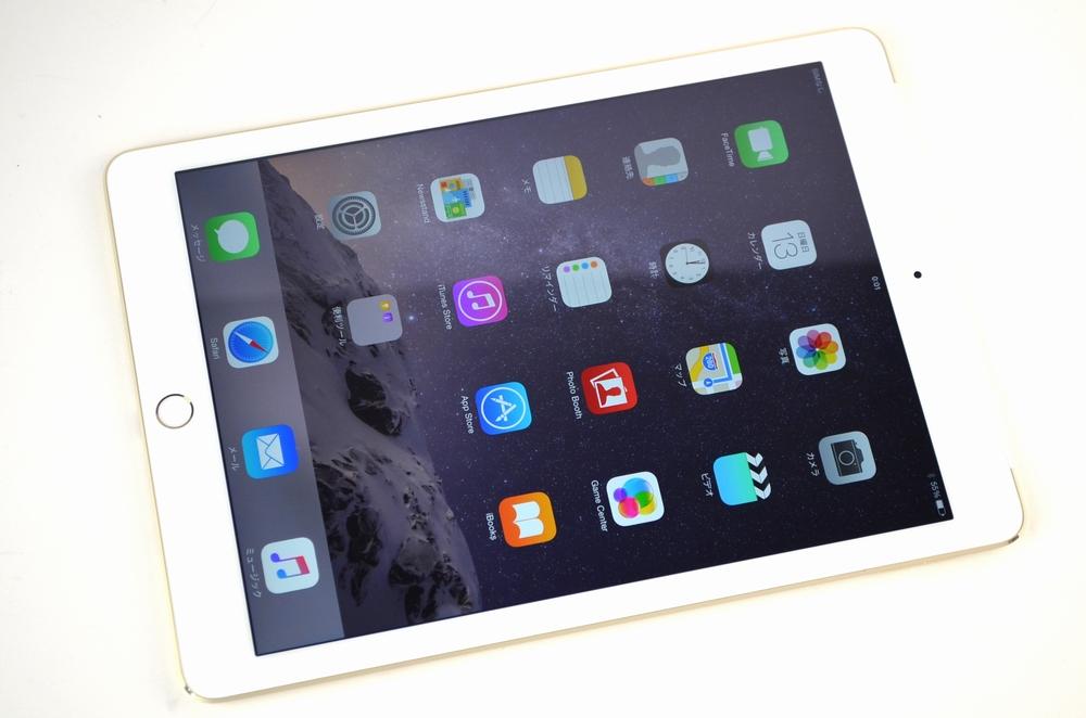 中古au iPad Air2買取ました!16GB WiFi,Cellular MH1C2J/A ゴールド