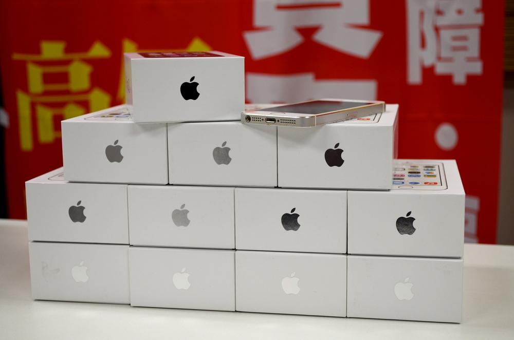 中古au iPhone5s買取ました!14台