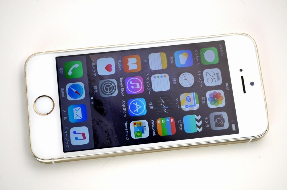 中古au iPhone5s買取ました!32GB ME337J/A ゴールド