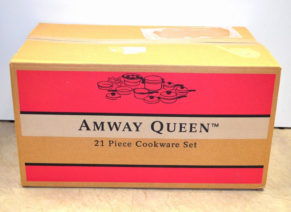 新品 アムウェイ クィーン 21ピースセット買取ました!