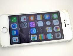 ガラス割れdocomo iPhone5s買取ました!32GB ME336J/A シルバー