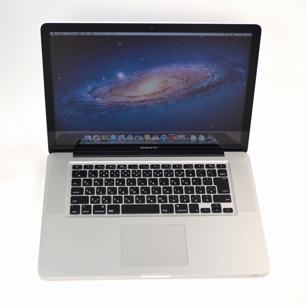 中古MacBook Pro買取ました!15-inch,Mid 2012 MD104J/A Core i7