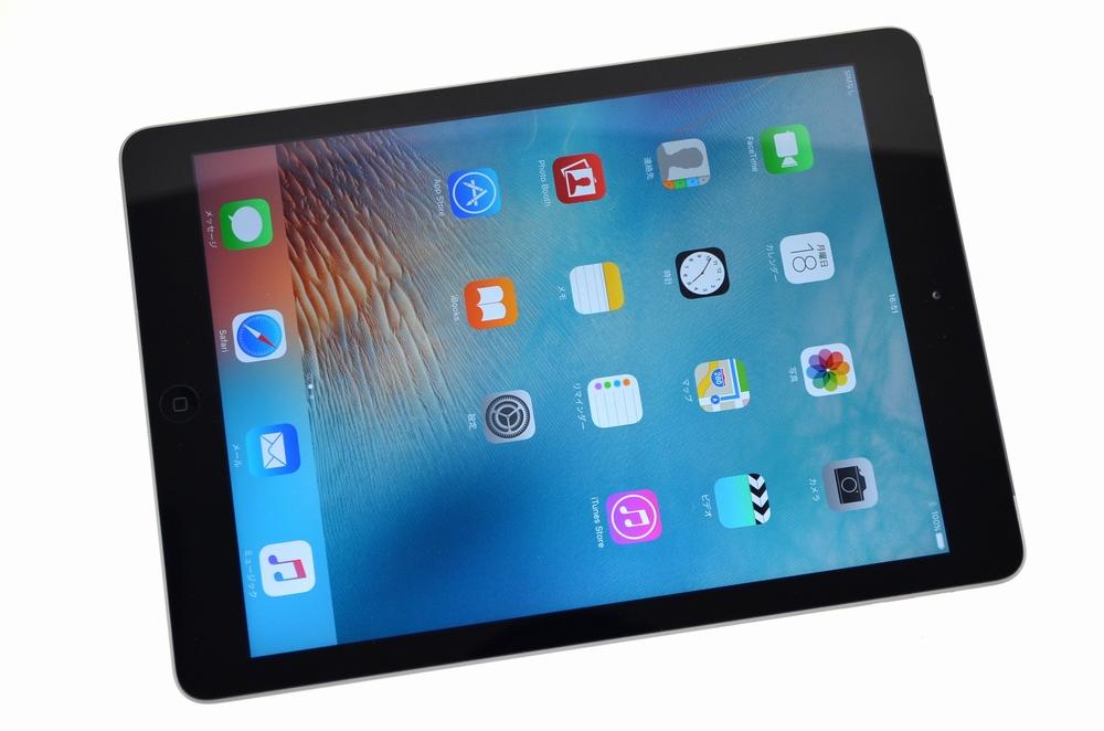 中古SoftBank iPad Air買取ました!Wi-Fi+CELL 16GB MD791J/A スペースグレイ